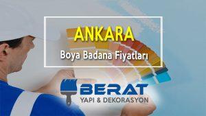 Ankara Boya Badana Fiyatları