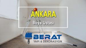 Ankara Boya Ustası