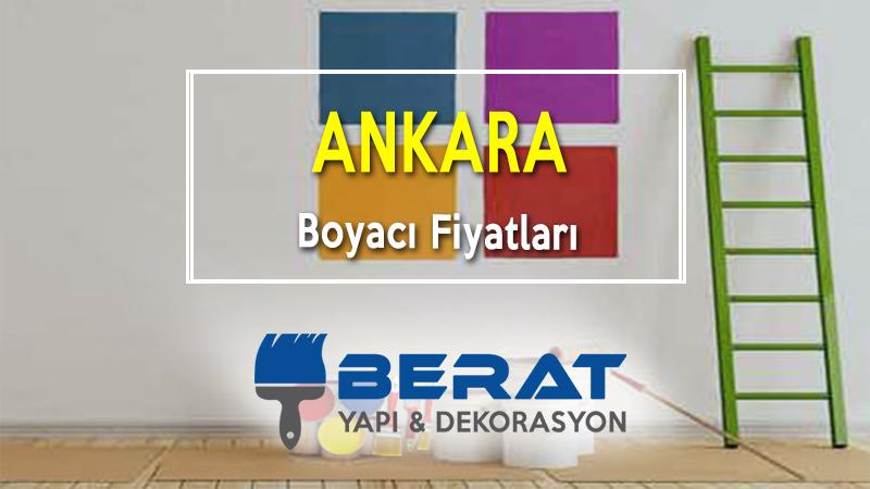 Ankara Boyacı Fiyatları